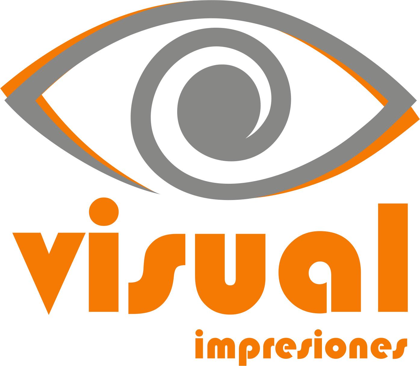 logo visual - Visual Impresiones