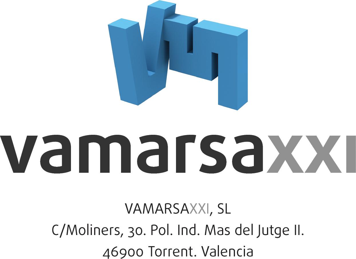 Logotipo Vamarsa XXI con datos 1 - VAMARSA XXI