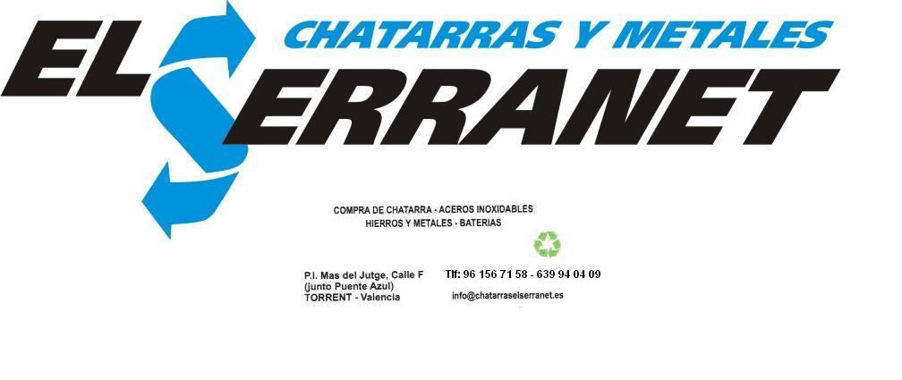LOGO NUEVO SERRANET 1 - Chatarras y metales El Serranet