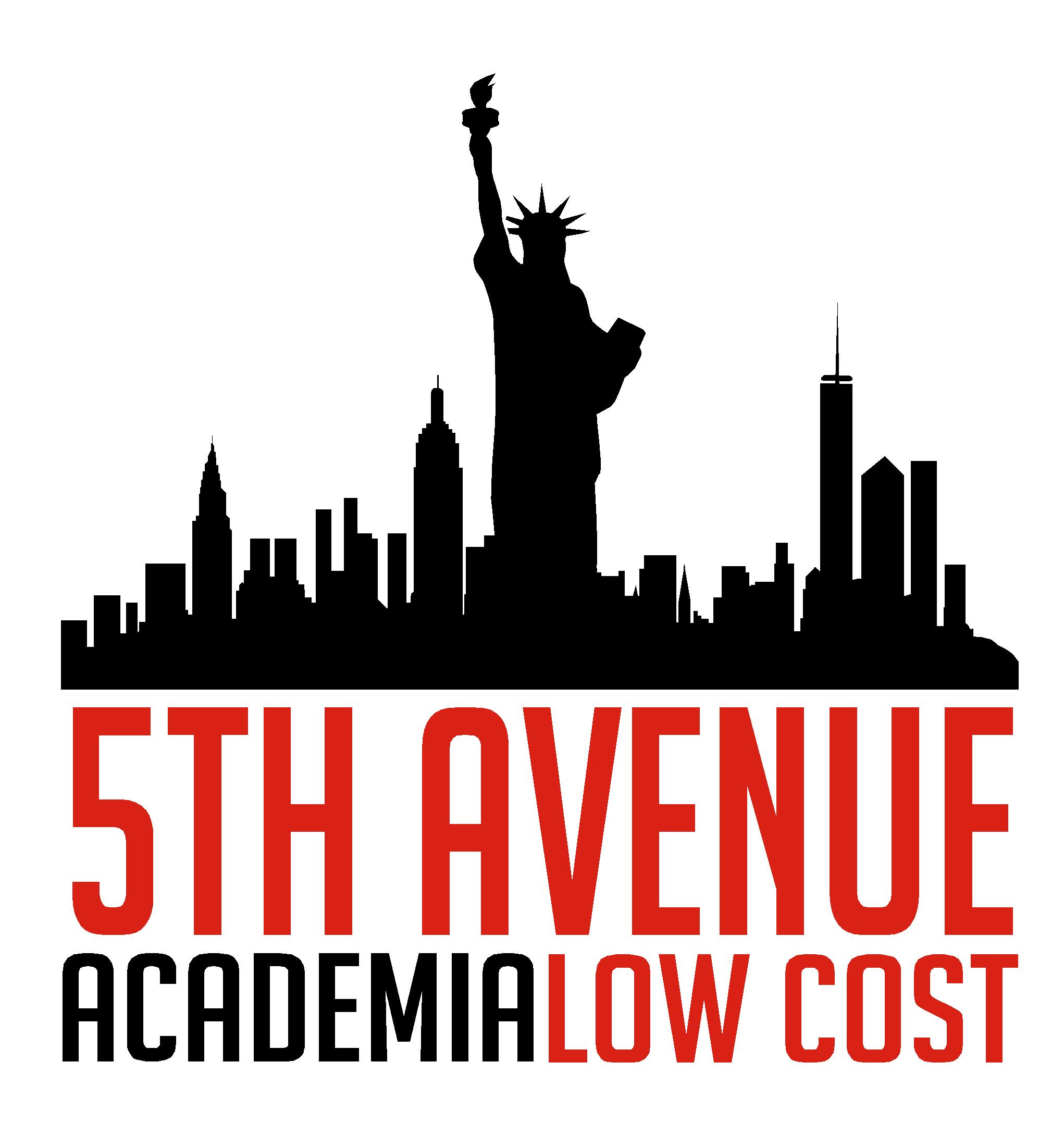 logo 5th - Academia Low Cost 5th Avenue