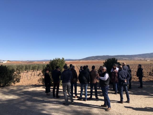 IMG 2428 - Visita Empresarial Bodega Hoya de Cadenas