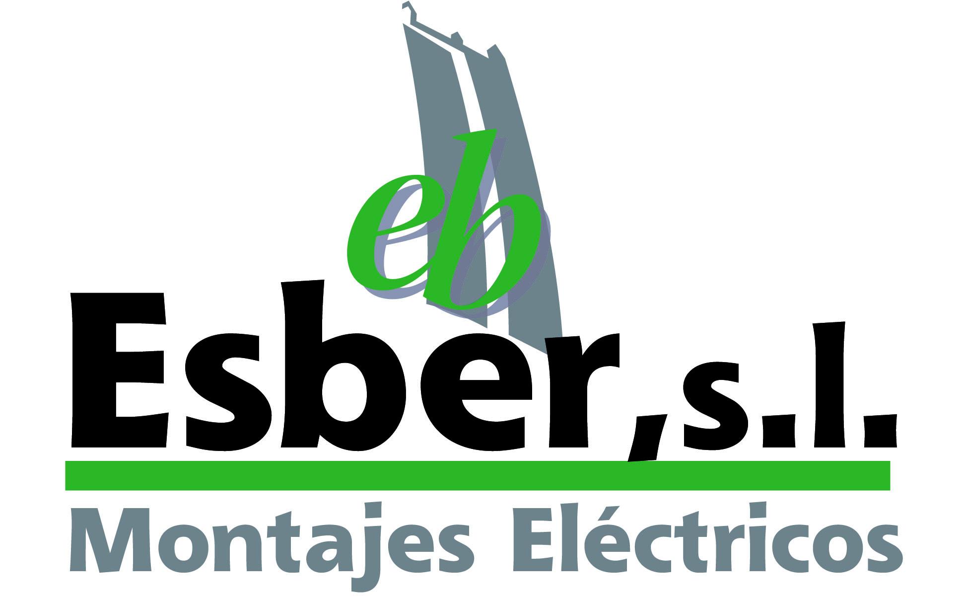 ESBER logo completo - Montajes Eléctricos Esber