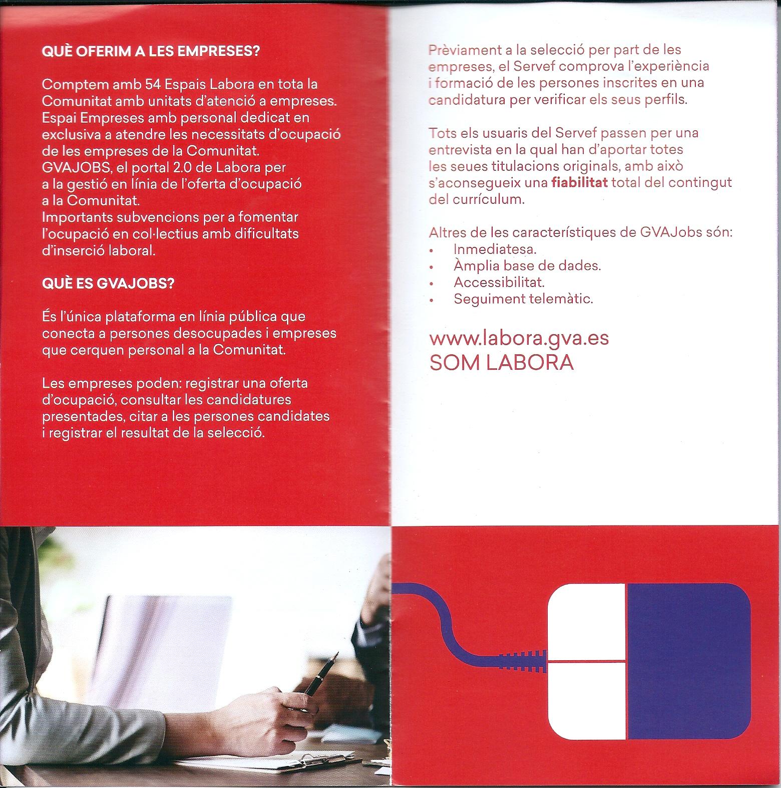 INFORMACION LABORA - Labora Servef