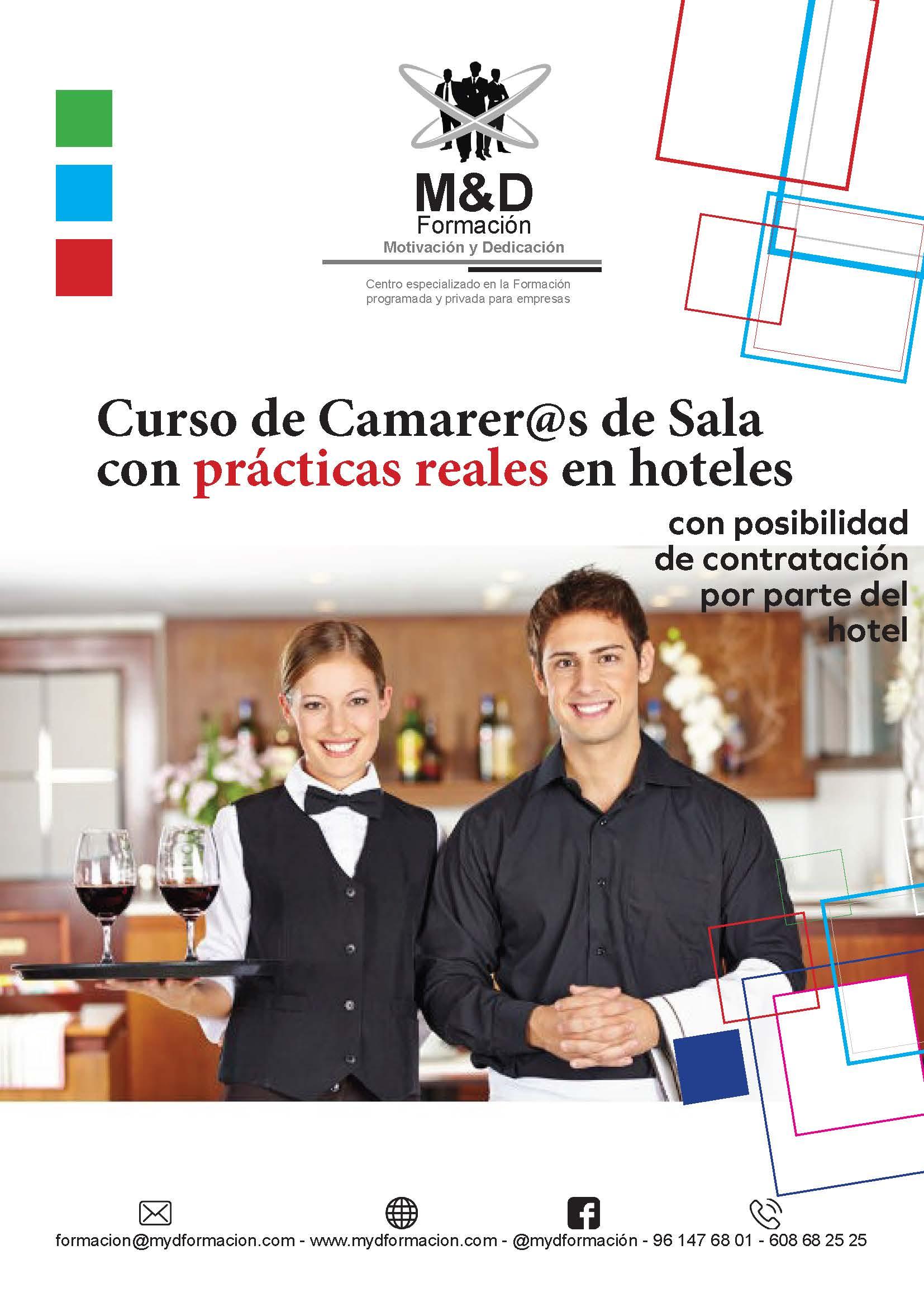 CARTEL DE CAMAREROS DE SALA - Ofertas